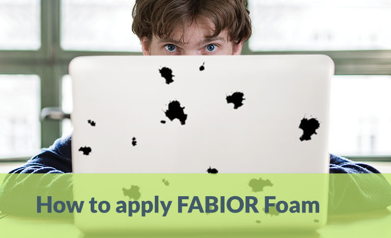 How to Apply FABIOR Foam, Instructions for use